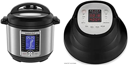 Instant Pot Ultra 10-in-1 Electric Pressure Cooker & Air Fryer Lid 6 in 1, No Pressure Cooking Functionality, 6 Qt, 1500 W