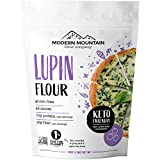 Lupin Flour (3 lb) Low-Carb Flour, 1g Net Carbs Per Serving, High in Protein and Fiber, Keto, Gluten-Free, Non-GMO Project Verified, OU Kosher Certified, US-Grown and Milled