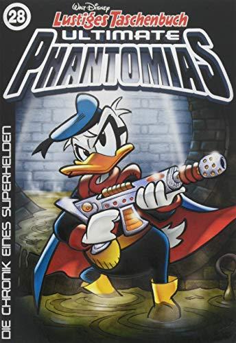 Lustiges Taschenbuch Ultimate Phantomias 28: Die Chronik eines Superhelden
