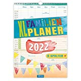 Trötsch XL Familienplaner 2022: Wandkalender: Wandkalender, Notizkalender mit 6 Spalten. 12 Monate (Familienkalender)