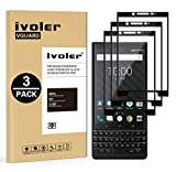 VGUARD [3 Unidades] Protector de Pantalla para Blackberry Key2 / Blackberry Key 2, [Cobertura Completa] Cristal Vidrio Templado Premium, [Dureza 9H] [Anti-Arañazos] [Sin Burbujas]