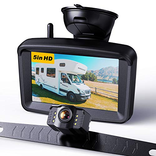 Wireless Backup Camera with 5' Monitor for...
