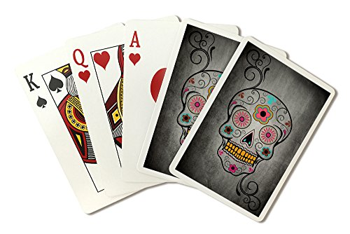Sugar Skull (Playing Card Deck - 52 Card Poker Size with Jokers)