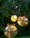 Gardener's Supply Company Solar Fairy Dust Ball, Large