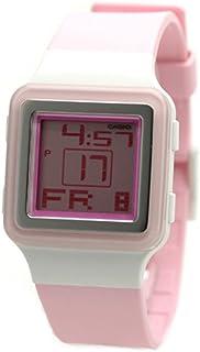 ساعة كاسيو بوب تون بنظام رقمي للسيدات بسوار من البلاستيك المطاطي - LDF20-4A
