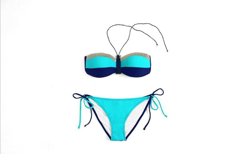 Sucastle Bikini, reizvolle Badebekleidung Strandkleidung, weibliche Modelle, S, M, L, L, L, XL-Größe B072L3NM61  Sonderangebot 4f6352