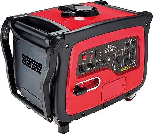 【PROMOTE】PEG-3200i インバーター発電機 4サイクルガソリン式 3.2kVA ハイパワーモデル