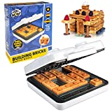 CucinaPro Building Brick Electric Waffle Maker- Cooks Fun, Buildable Waffles in Minutes - Revolutionize Breakfast - As seen on Kickstarter
