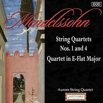 Mendelssohn: String Quartets Nos. 1 and 4 - Quartet in E-Flat Major
