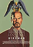 BIRDMAN MOVIE-POSTER, MASSE: CA. 11 X 8 CM