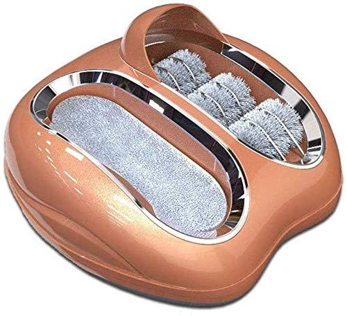 XXXCCC Smart Sole Cleaning Machine, Kleine Inductie Schoen Machine Automatische Wasmachine Home Office Gratis Schoen Cover Machine Drie Kleuren Optioneel B