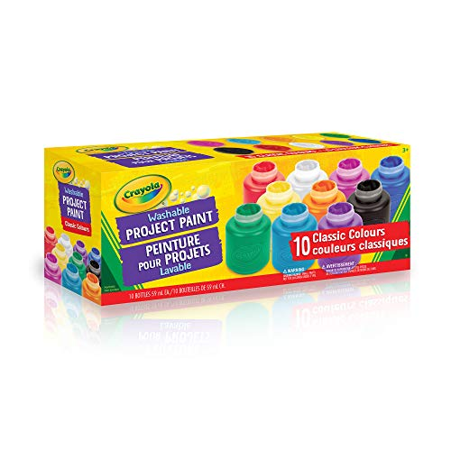 Crayola 10 59ml Paint Jars