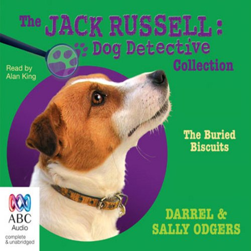 The Buried Biscuits audiobook cover art