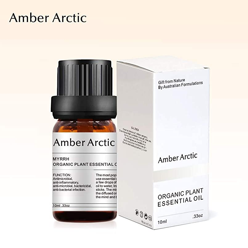 サイクルリスト適応的Amber Arctic ミルラ エッセンシャル オイル、 100% 純粋 天然 アロマ ディフューザー 用 エッセンシャル オイル (10ml) 中