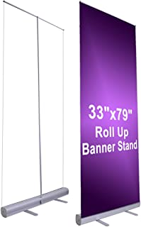 small roll up banner