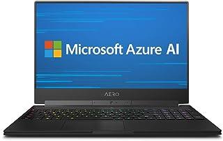 """Gigabyte AERO 15 Classic-XA-F74ADP Gaming Laptop (Intel i7-9750H 6-Core, 64GB RAM, 2x2TB PCIe SSD RAID 0 (4TB), 15.6"""" Full..."""
