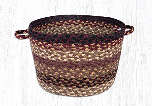 Earth Rugs 38-UBMD357 Basket, 9 X 13, Red