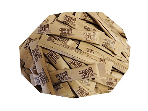 Sugar In the Raw Euro Sticks, 5 grams each, pack of 100