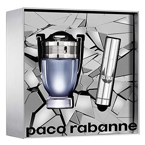Paco Rabanne Invictus Eau de Toilette SET Eau de Toilette (50 ml + TRAVELSPRAY 10 ml)