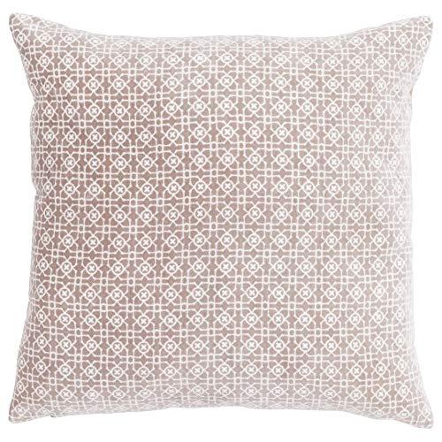 Linen & More Dekokissen, Baumwolle, Weiß, 45 x 45 cm
