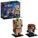 LEGO 41626 BrickHeadz - Juguetes de Groot y Rocket de Los Vengadores
