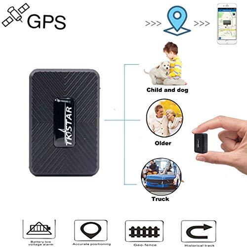 Mini Rastreador GPS,Portátil GPS Tracker Tiempo Real GPS Localizador para Personas Prevenir la Perdida…
