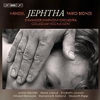 ヘンデル:オラトリオ「イェフタ」 (Handel : Jephtha / Gilchrist , Julsrud , Biondi , Stavanger SO) (2CD)