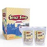 Space Sand 1.8 kg con 50 Piezas de Formas, números, Letras, Piezas de...