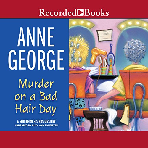 Murder on a Bad Hair Day audiobook cover art