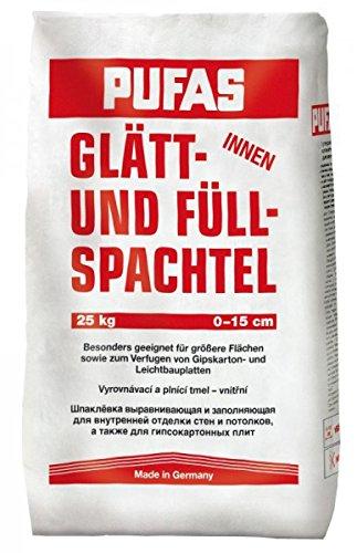 Pufas Glätt- und Füllspachtel innen 25kg