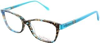 Bohdie SH Shell Tortoise Plastic Rectangle Eyeglasses 52mm