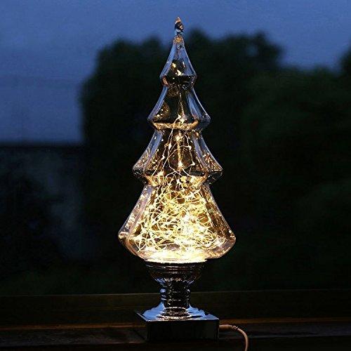 Familie Party Atmosphäre Ambiente Lampe Ornamente Wunschbaum Warmweiß Licht LED Nachtlampe Kreative Liebhaber Geschenk Drei Schätze Feuer Baum Geißblatt Haus