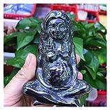 YSJJLRV Pierre Brute Natural Rose Quartz Crystal Terahertz Pyrite minérale Minert Or Pierre Congelée Sculpté Statue Statue Statue Sculpture (Color : Terahertz, Size : 1pc)