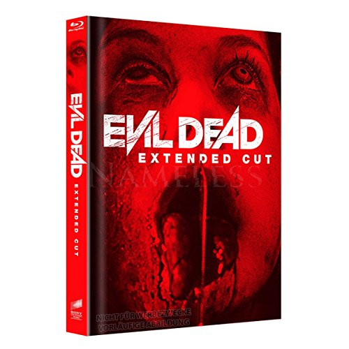 Evil Dead Extended Cut Mediabook Cover A - Blu-ray