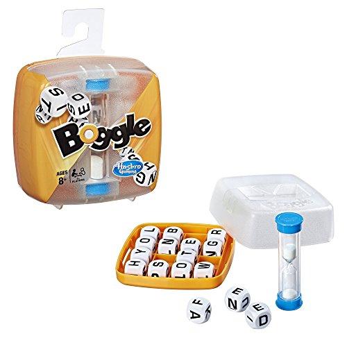 Hasbro Gaming Boggle - Jeu de societe de voyage - Jeu de...