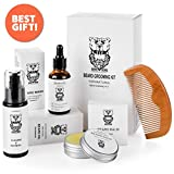 Best Beard Oil Kits - Beard & Mustache Grooming Kit for men Review