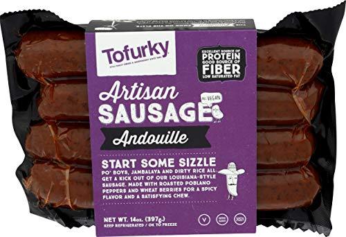 Tofurky, Sausage Andouille Cajun, 14 Ounce