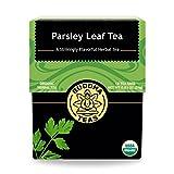 Organic Parsley Leaf Tea, 18 Bleach-Free Tea Bags – Caffeine Free, Source of Vitamins, Minerals,...