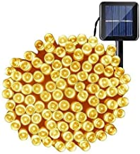 OxyLED Lichtsnoer op zonne-energie, 200 leds, impregneren binnen/lichten buiten, aangedreven decoratieve solarverlichting ...