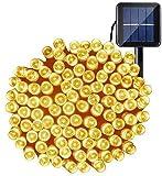 OxyLED Catena Luminosa Solare,200 LED Ghirlanda LED Energia Solare,17m LED Stringa Esterno...