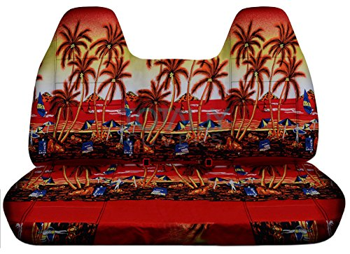 Totally Covers Compatible with 1999-2004 Ford F-150 Hawaiian Truck Seat Covers...