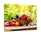 QTA Cubierta para vitrocerámica de 60 x 52 cm, 1 pieza, universal, para cocinas de inducción, protección contra salpicaduras, tabla de cortar y verduras