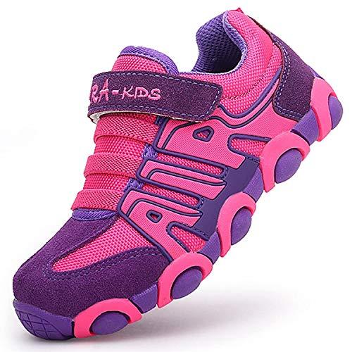 SITAILE Sneaker Mädchen Kinderschuhe Jungen Lauflernschuhe Turnschuhe Outdoor Sport Wander Schuhe für Kinder Pink