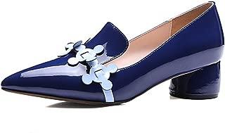 Nine Seven Women's Leather Pointtoe Heel Pumps