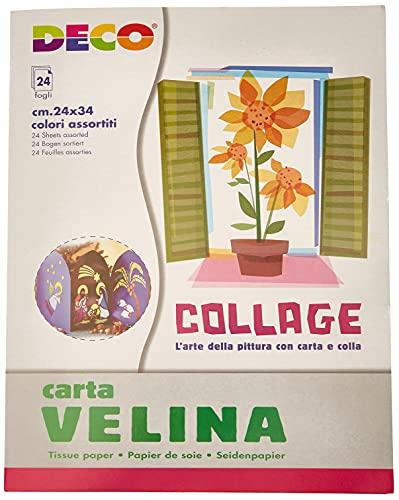 DECO 706/24 Carta Velina, 24 Pezzi