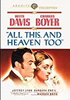 All This, and Heaven Too [DVD]
