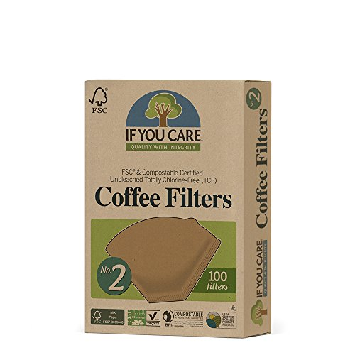 IF YOU CARE COFF FILTER #2 CONE BRWN, 100 CT