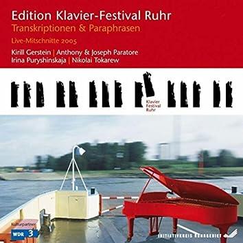 Transcriptions & Paraphrases: Live Recordings (Edition Ruhr Piano Festival, Vol. 9)