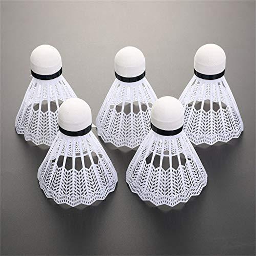 12 palline da badminton in nylon avanzato, con grande stabilità e durata, per interni ed esterni, per allenarsi in palestra, badminton Birdies