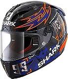 Shark Casco de moto RACE-R PRO LORENZO CATALUNYA GP 2019 GP KRB, Negro/Rojo/Azul, XL